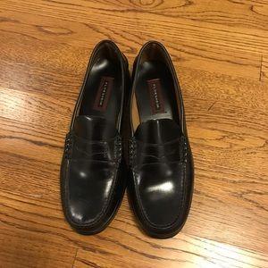 Florsheim Black Leather Loafers